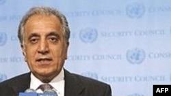 زلمای خليل زاد، سفير آمريکا در سازمان ملل متحد. عکس ازAFP