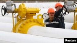 Газопровод рядом с Одессой.