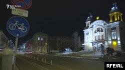 Cluj, martie 2020 în prima noapte de carantina națională.