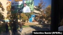 Publicitate electorală la Orhei