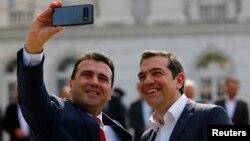 Зоран Заев и Алексис Ципрас во Скопје