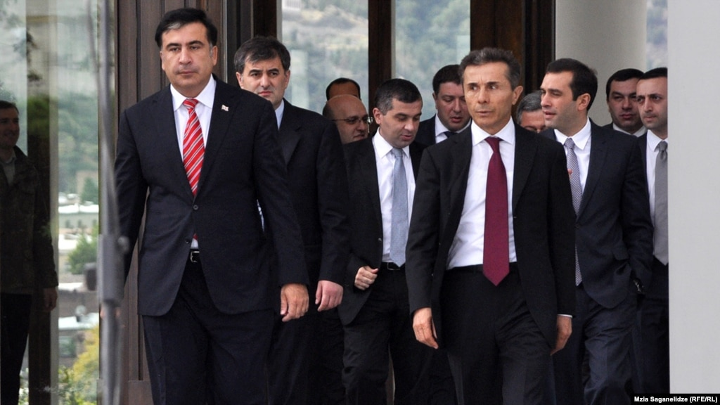 Image result for Saakashvili and Ivanishvili