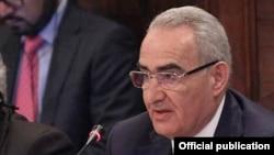 Спикер парламента Армении Галуст Саакян (архив)