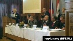 جانب من أعمال الملتقى الإقتصادي العراقي التشيكي