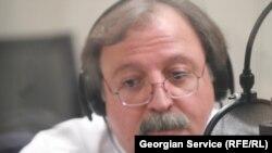 Վրաստանի արտգործնախարար Գրիգոլ Վաշաձեն հարցազրույց է տալիս «Ազատություն» ռադիոկայանի Պրահայի կենտրոնակայանում, 24-ը փետրվարի, 2011թ.