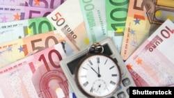 Банкноти евра.