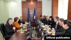 Susret kosovskih čelnika sa Catherine Ashton