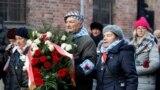 Supraviețuitori ai Hoocaustului, la ceremoniile din Polonia, de comemorare a eliberării lagărului de concentrare de la Auschwitz, în urmă cu 75 de ani