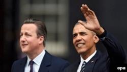 Барак Обама менен Британиянын өкмөт башчысы Дэвид Камэрон