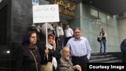 نسرین ستوده، محمد ملکی، محمد نوریزاد در برابر کانون وکلای دادگستری مرکز