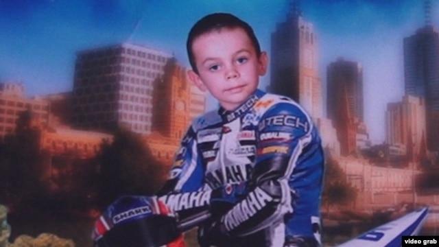 A fan of 3-D puzzles, Kolya also enjoyed motorcross.