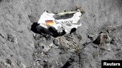 Уламки літака, що впав у французьких Альпах, 26 березня 2015 року