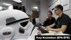 Працівники компанії Group-IB у її офісі в Москві, фото 9 жовтня 2017 року