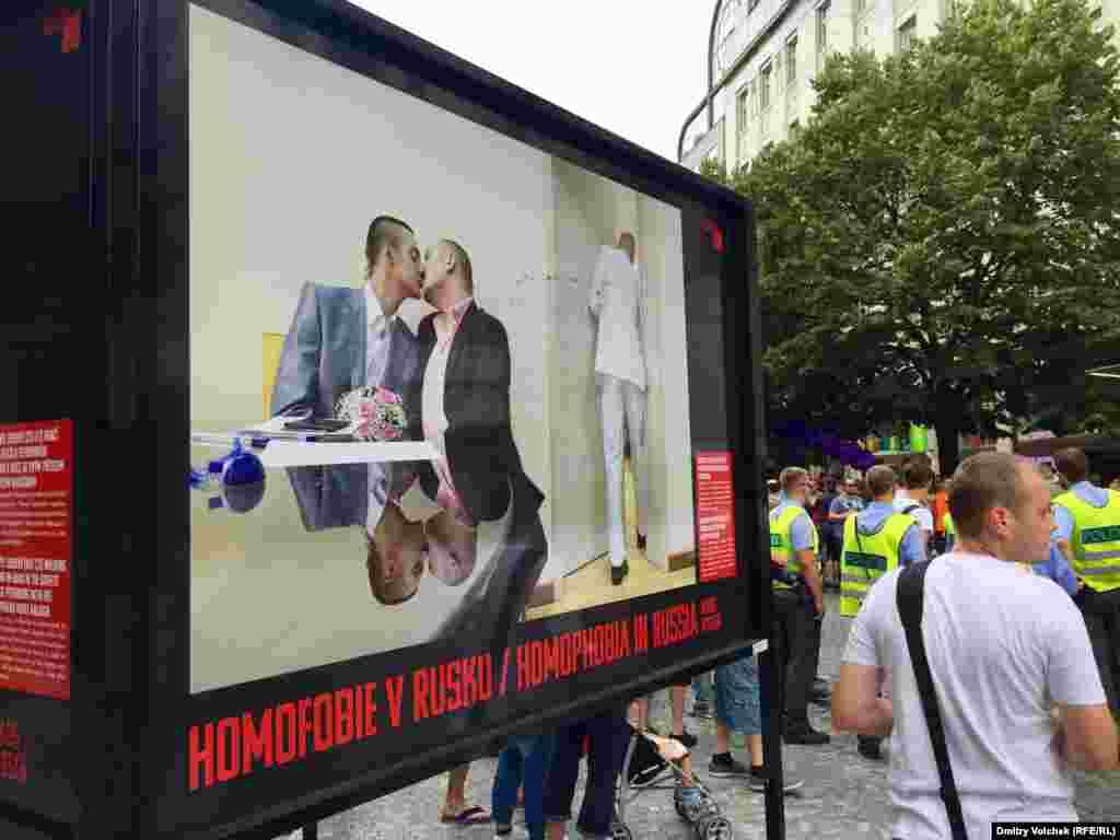 Еще один снимок Мадса Ниссена: безуспешная попытка зарегистрировать однополый брак в Петербурге