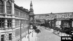 Bakı, İstiqlaliyyət küçəsi - 20 əsrin əvvəli