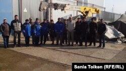 Некоторые жители Боранкульского района Мангистауской области. 2 апреля 2014 года.