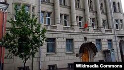 Здание посольства Кыргызстана в Москве.