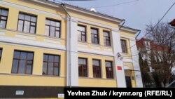 Здание бывшего городского частного четырехклассного училища Л.В. Синельниковой