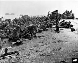 Высадка британских солдат