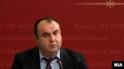 вицепремирот за економски прашања Владимир Пешевски