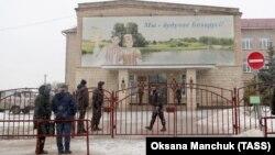 Сярэдняя школа №2 у Стоўпцах, дзе адбылося двайное забойства