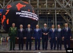 Лідери країн-членів Євразійського економічного союзу. Москва, 23 грудня 2014 року