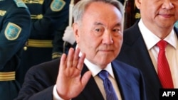 Президент Казахстана Нурсултан Назарбаев в Астане. 7 мая 2015 года.