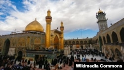 The Imam Ali shrine in Najaf