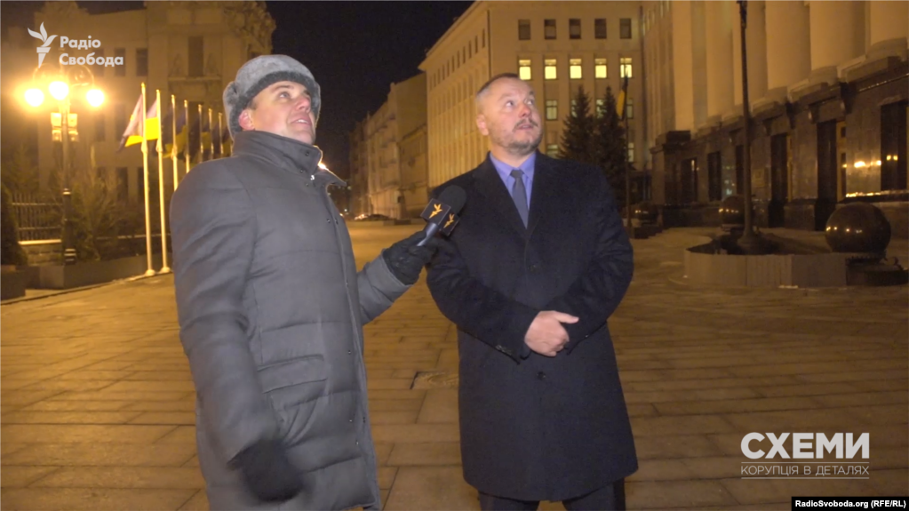 Andriy Artemenko, right, claims top Kremlin aides approved a Ukraine peace plan he drafted that reportedly made it to associates of U.S. President Donald Trump.