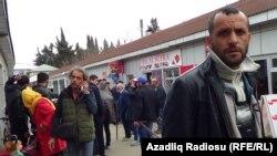 Astara. İran-Azərbaycan sərhədi.