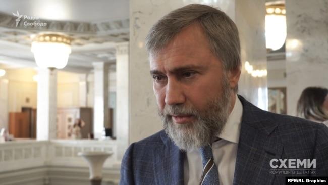 Депутат Вадим Новинський підтвердив володіння часткою холдингу «Метінвест»