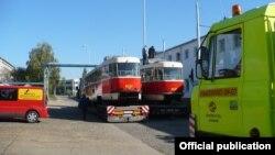 Два трамваї із тих, які закупив Харків