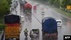 Monsunske kiše, Islamabad, juli 2015.