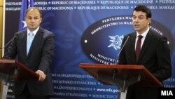 Министерот за надворешни работи Никола Попоски