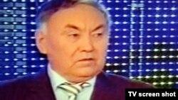 «Ауыл» партиясының төрағасы Ғани Қалиев. Алматы, 12 қаңтар 2012 жыл.