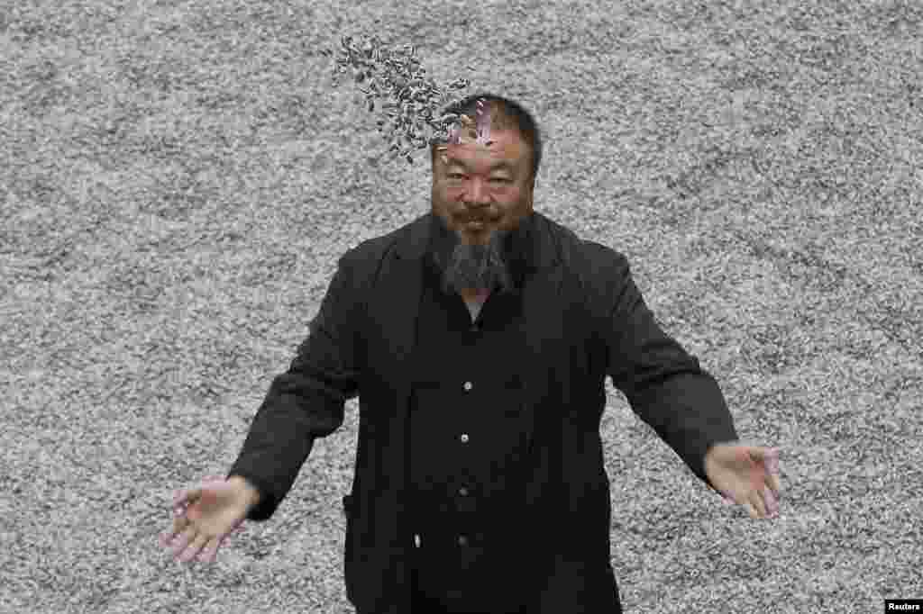 "<b>Ai Weiwei, artist and political activist, China.</b> The internationally acclaimed conceptual artist, who helped design Beijing's ""bird's nest"" stadium for the 2008 Olympic Games, has since angered Chinese authorities with his criticism of alleged government corruption and cover-ups. He was detained for nearly three months last year and charged with tax evasion in a case he dismisses as politically motivated. The Beijing tax bureau has demanded that he pay 15 million yuan ($2.4 million) in back taxes and fines."