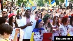 Мегамарш вишиванок в Одесі. 23 травня 2015 року