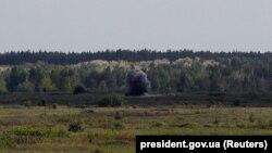 Ілюстраційне фото. Випробування військовими ЗСУ американських ракетних комплексів «Джавелін» (Javelin) на військовому полігоні, 22 травня 2018 року
