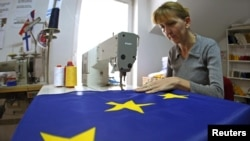 Beograd, radionica za izradu zastava, ilustracija