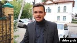 Илья Яшин в Костроме в 2015 году