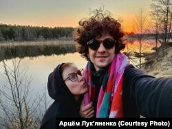 Ксенія Жук і Арцём Лук'яненка