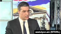 Armenia -- Human Rights Defender Arman Tatoyan speaks to RFE/RL, March 13, 2019