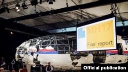 Рэканструкцыя «Боінга 777» рэйсу MH-17