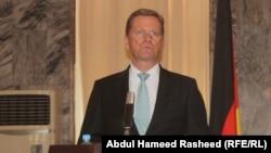 Германияның сыртқы істер министрі Гвидо Вестервелле. Кабул. 21шілде, 2011 жыл.