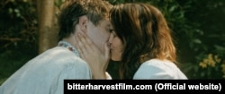 "Max Irons and Samantha Barks in Bitter Harvest. ""It in some ways pays homage to Doctor Zhivago. The love story is up front, the Holodomor in the background,"" says director George Mendeluk."