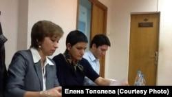 """Представители """"Общественного вердикта"""" в Замоскворецком суде Москвы"""