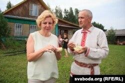Ірына і Васіль Шкіндзеры, гаспадары аграсядзібы