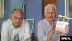 Валянцін Стэфановіч і Алесь Бяляцкі