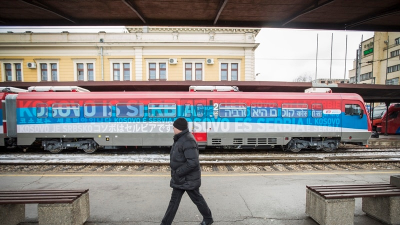 Serbia, Kosovo 'Agree In Principle' On Reviving Railway Links