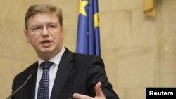Еврокомесарот за проширување на ЕУ, Штефан Филе